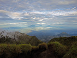 View from Gunung Merbabu (Liz Verheyden, November 2010)