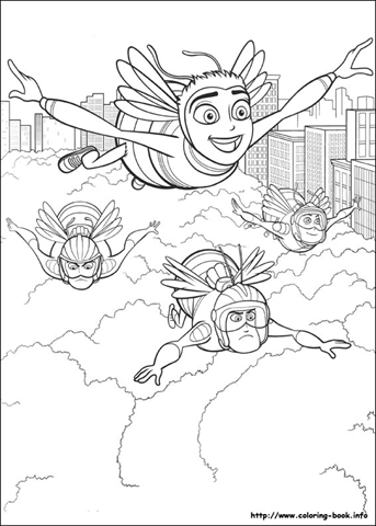 Desenhos para colorir Bee Movie