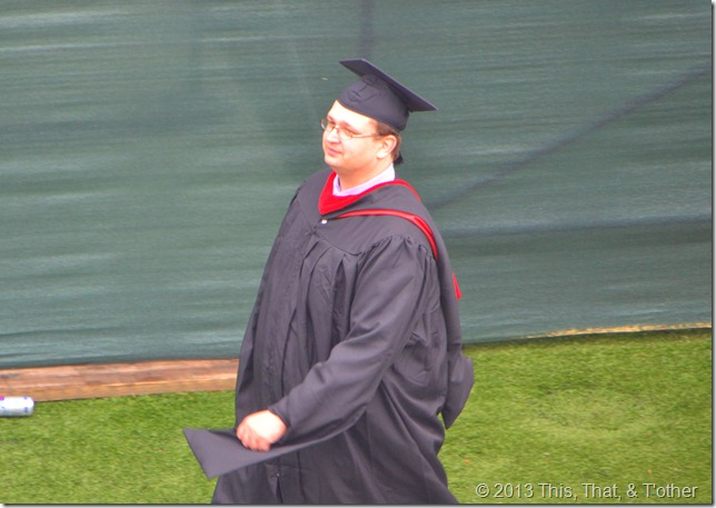 Jason Morford LU commencement