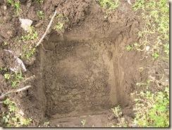 topsoil, loam layering