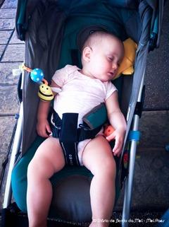 Laura dormiu!