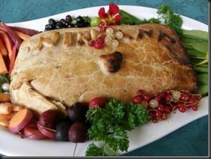christmas vegetable loaf