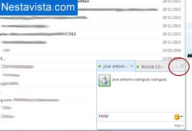 Chatear desde Hotmail con tus amigos del Messenger