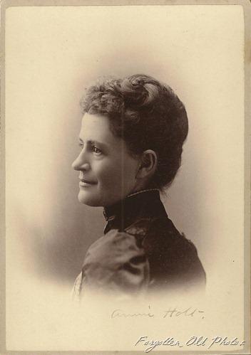 Annie Holt Cabinet Card Craig