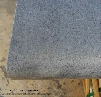 12 x 36 x 2 Charcoal Gray Granite Pool Coping, straight