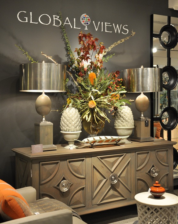 Global View Showroom At High Point Market