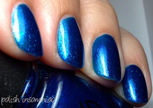 China Glaze Blue Year's Eve 6