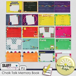 Chalk Talk Memory Book