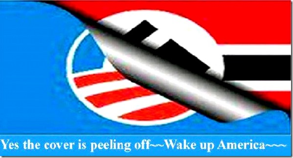 Wake Up America - Cover Peeling Off
