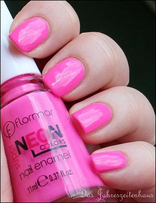 Pink Flormar NEON N008 2