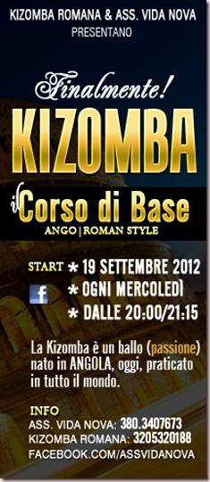 Corso di Kizomba a Roma