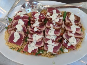 Seared Ahi Tuna with Couscous