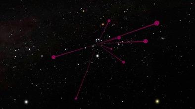 localização das anãs marrons frias descobertas
