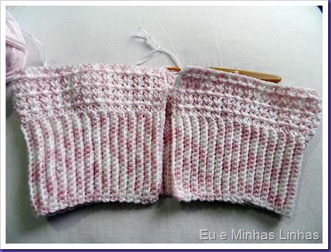 Colete Menina Croche 1f