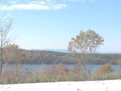 11.2011 Maine Otisfield snow lake mts