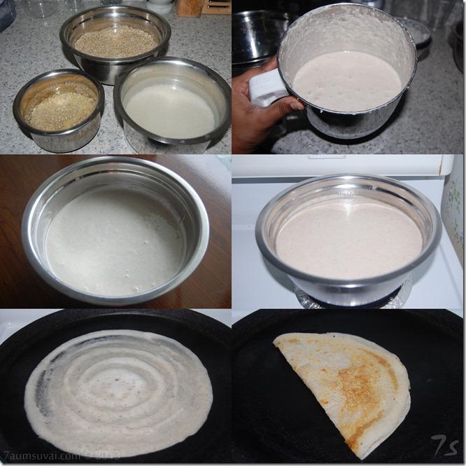 Barley dosai process