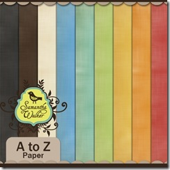 SW A to Z linen solid paper preview