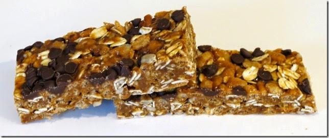 Chewy Coconut Oil Granola Bars (Gluten Free) 7-2-14