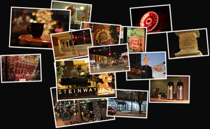 View Sights and Scenes of Downtown Appleton at Night