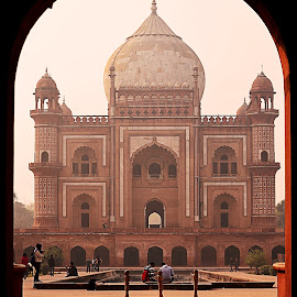 Safdarjung Tomb, Delhi by Minakshi Sur - Buildings & Architecture Public & Historical ( marble, tomb, mausoleum, sandstone, india, delhi,  )