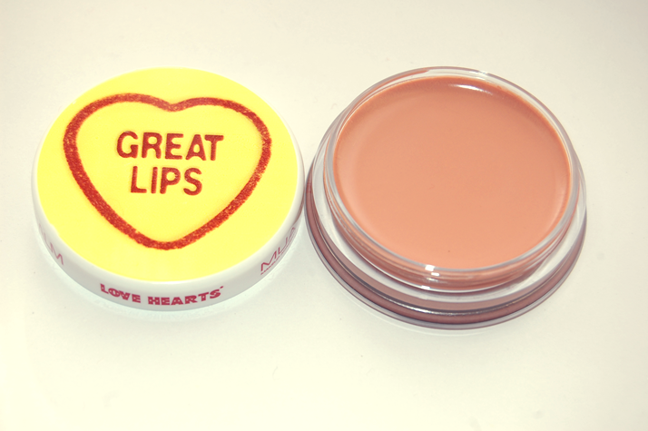 MUA Make Up Academy Great Lips Love Heart Lip Balm