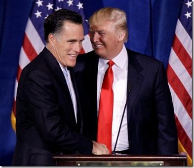 Romey and Trump