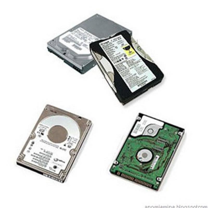 Berbagai Tipe HardDisk Drive