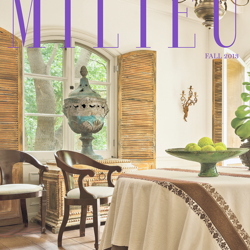 IT'S HERE! MILIEU HAS ARRIVED!