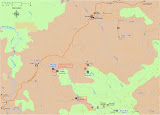 Map for Gunung Niut area (Thomas Ulrich, June 2012)