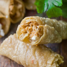 Chicken Flautas with Lime Sour Cream