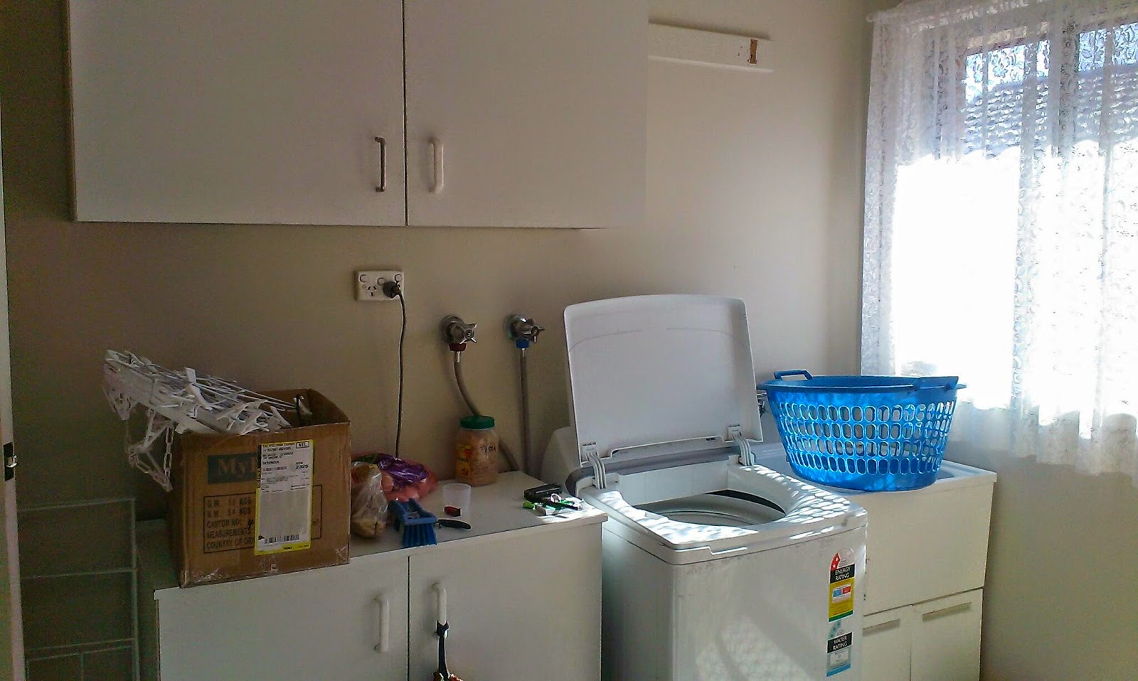 Cheap White Laundry Room Cabinets