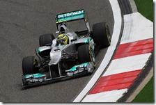 Rosberg nelle qualifiche del gran premio della Cina 2012