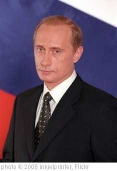 'Vladimir_Putin' photo (c) 2005, inkjetprinter - license: http://creativecommons.org/licenses/by/2.0/