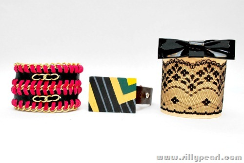 Three Bracelets Inspired By Designer Bags Stella McCartney Fendi Valentino
