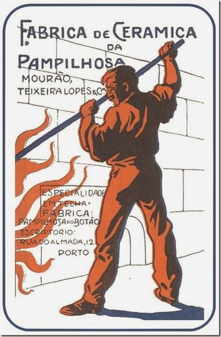 fabrica ceramica pampilhosa mourao 1907