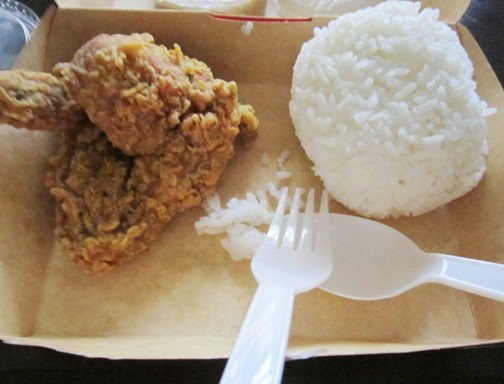 kfc butter chicken, ladyE