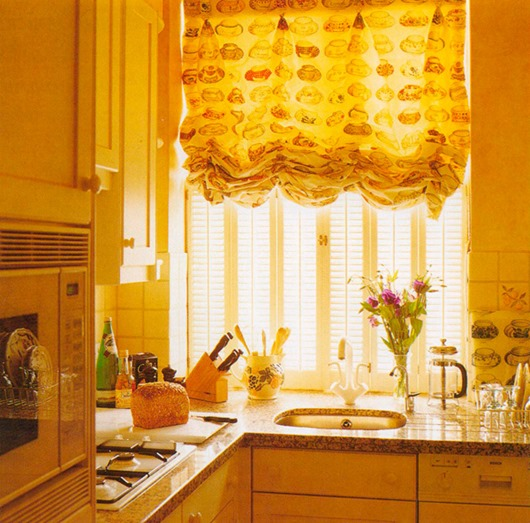 austrian-blinds-for-kitchen