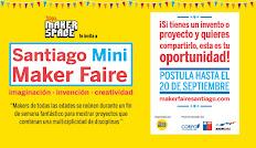 ¡Postula a Santiago Mini Maker Faire 2013!