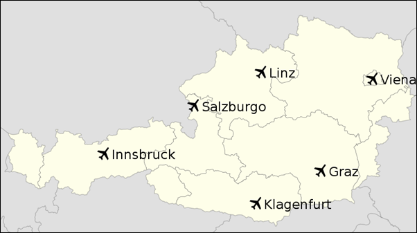 مطارات النمسا
