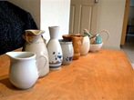 pouring - my collection of jugs