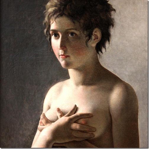 guerin - popiersie dziewczyny (ok. 1794)