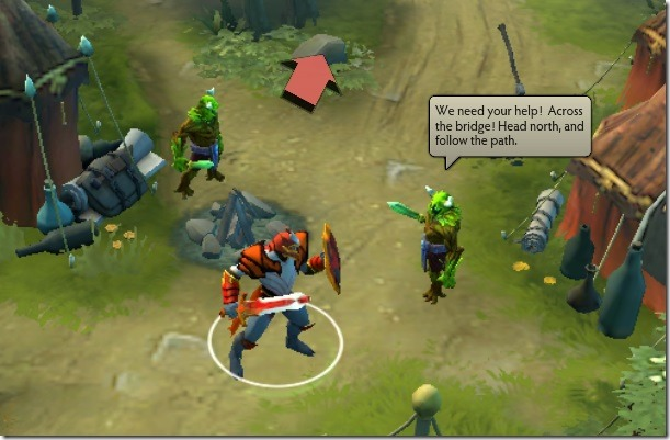 DOTA 2 Tutorial Gameplay
