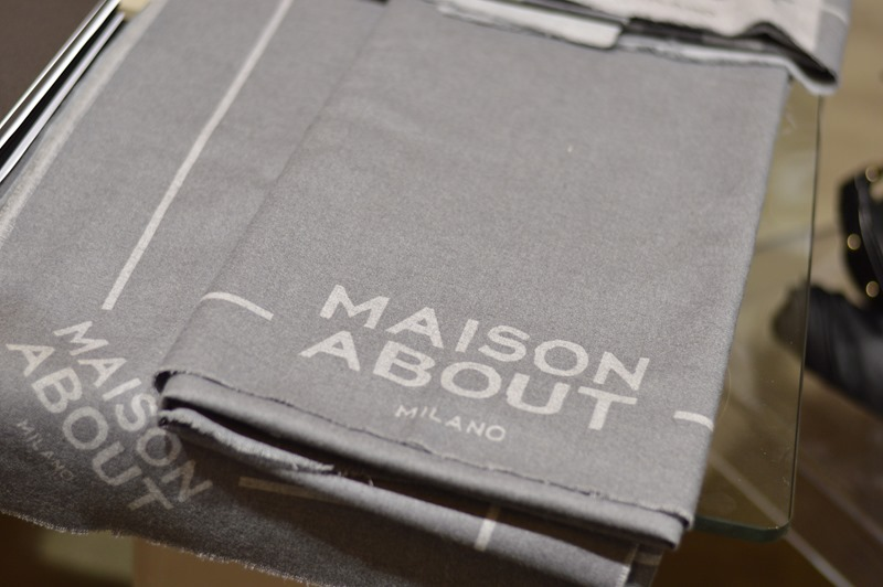 Maison About for About, felpe Maison About for About, Maison About, Cappotto Maison About, fashion, White Show, Milano fashion week, milan fashion week, fashion week, fashion blog, Maison About bag, Maison About for About bag