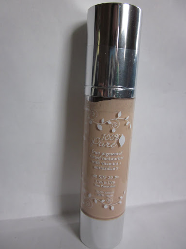 100% Pure Fruit Pigmented Tinted Moisturizer, SPF 20 ($32 for 1.8 fl oz)