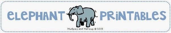Free Preschool Elephant Printables