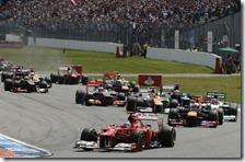 Alonso vince il gran premio della Germania 2012