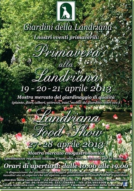 landriana 2013 primavera aprile