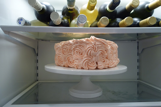 This is what I woke-up to find in my refrigerator on February 14th.