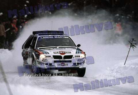 toivonen s4 ruotsi86 jpg henri toivonen lancia delta s4 ruotsi 86    Lancia Delta S4 Toivonen Crash