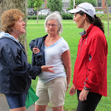 Pat Godfrey, Pat Yingling and Maureen Robinson.